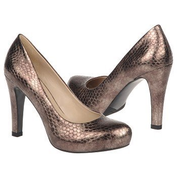 Franco Sarto Womens Cicero Metallic