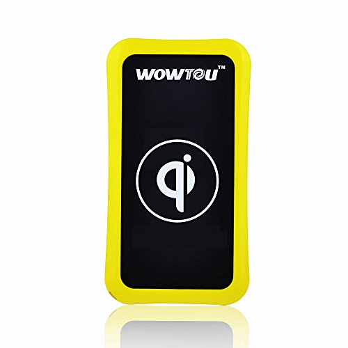 Wowtou(Tm) Model K8 Single Position Inductive Charger Wireless Charger Pad For Iphone 5/5S/4S/4 Samsung Galaxy S5/S4/S3/Note 3/2; Nokia Lumia 1020, Lumia 920, Lumia 820; Htc Droid Dna, Htc 8X, Htc Rzound; Google Nexus 4, Google Nexus 5; Lg D1L, Lg Lte2; S