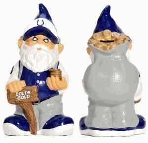 Caseys Distributing 8132998492 Indianapolis Colts Garden Gnome Coin Bank - 1