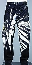 MSR M13 Rockstar OTB Pants , Distinct Name: White/Black, Primary Color: White, Size: 36, Gender: Mens/Unisex 351397