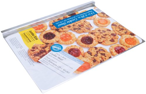Wilton Jumbo 14 x 20 x 1/4 Inches Deep Aluminum Cookie Sheet