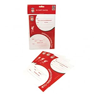 Amscan Liverpool Fc Invites Pack Of 20 by Amscan International