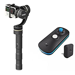 Feiyu FY G4S+ Wireless remote control 3 Axis 360 degrees coverage 4-directional joystick Handheld Gimbal Brushless Handle Steadycam Steady Camera Mount for Gopro Hero 3 4