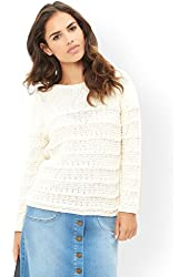 Monsoon Womens Celia Cable jumper
