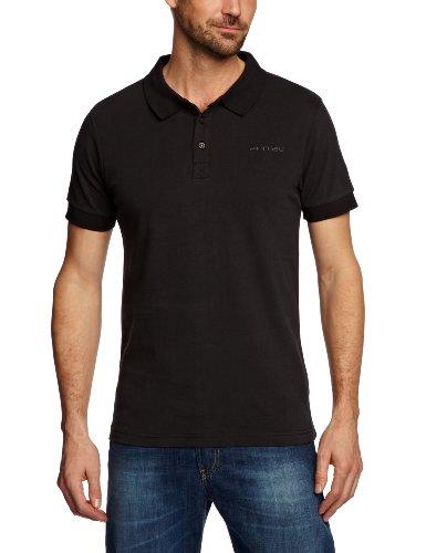 Animal Riverbank Polo Men's T-Shirt Black Large - CL3SC067-002-L