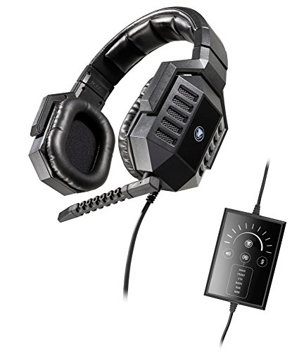 Snakebyte-Python-7500R-Real-71-Surround-Sound-USB-Gaming-Headset-with-detachable-Microphone-for-PC-Notebook-Computer-Incl-In-Line-Remote-Over-the-Ear-Wired