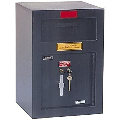 Immediate Depository Safe Features: Front Load / Dual Control Key Lock, Spyproof Dial For Combination Lock: Not Included