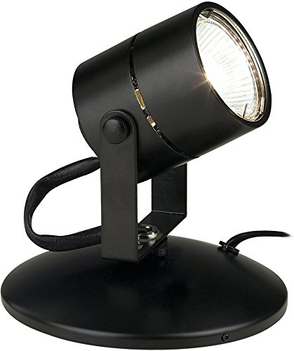 "Tech Lighting 700F1 4.75"" Tall Lil Big Wonder Portable Picture / Spot Light, Black"