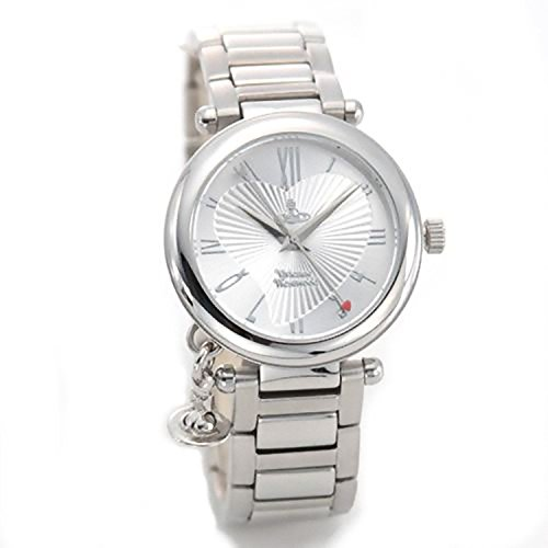 [ヴィヴィアンウエストウッド] Vivienne Westwood 腕時計 キュートなオーブチャームがついた、ディアマンテハート・インデックス VV006SL [並行輸入品]