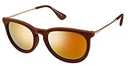Vincent Chase Brown Wayfarer Sunglasses (95207)