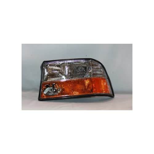 GMC S15 JIMMY / SONOMA / OLDS BRAVADA w/ FOG LAMP LEFT HAND REPLACEMENT HEAD LIGHT TYC 20 5422 00