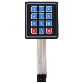 12 Key Membrane Keypad