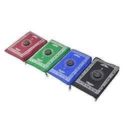 High Quality Muslim Pocket Prayer Mat Travel Prayer Rug with Mecca Compass Maroom Color