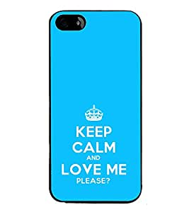 ifasho Designer Phone Back Case Cover Apple iPhone 5 ( Like Father Like Daughter )