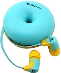Zebronics ZEB-EM990 Earphone with Mic (Blue)