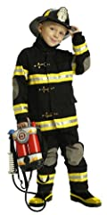 JUNIOR FIREFIGHTER SUIT COSTUME