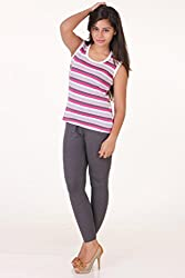 FLUR STRIPES TANK TOP (PACK OF 3)