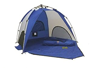 Genji Sports One-step Instant Push Up Hexagon Beach Tent Tall