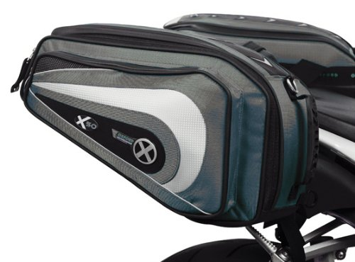 OXFORD X50 LIFETIME MOTORCYCLE LUGGAGE - PANNIERS, ANTHRACITE