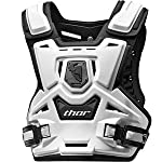 Thor Motocross Youth Sentinel Protector - One size fits most/White/Black
