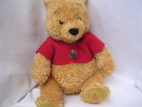 "Disney Winnie the Pooh Plush Toy ; Authentic Exclusive Original 15"" Collectible - 1"