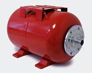 Réservoir à vessie pour la surpression domestique, horizontal 50l avec vessi