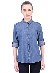 Oxolloxo Women denim smart shirt