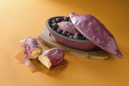 魔法の焼きいも鍋(発熱セラミックボール付)