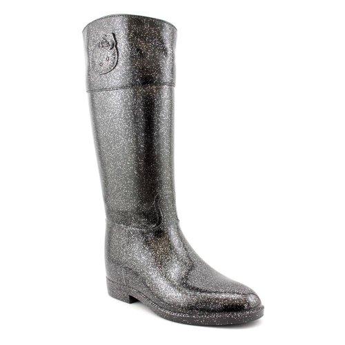 Hello-Kitty-Angelina-Shimmer-Rain-Boots-Black