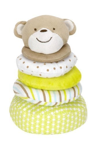 Carter's Stackable Plush Monkey Baby Toy - 1