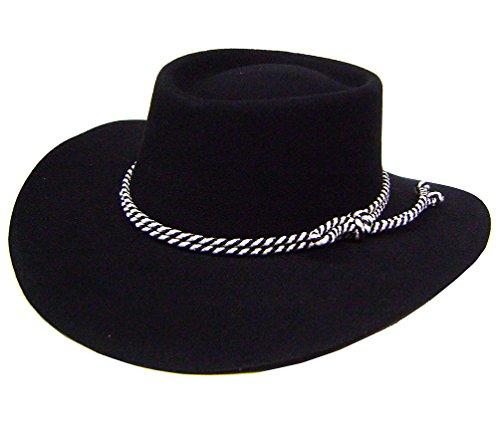 modestone-gambler-wool-felt-rope-hatband-cowboy-hut-size-54-21-1-8-xs-s