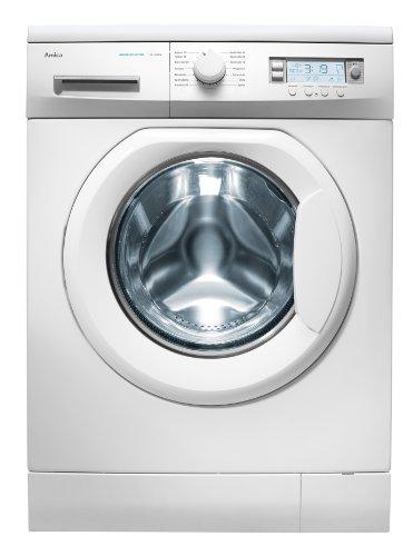 Amica WA 14243 W Waschmaschine Frontlader / A+ B / 222 kWh/Jahr / 10337 Liter/Jahr / 1400 UpM / 7 kg / Display / 15 Programme / weiß