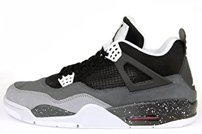 Supra 626969 030 Air Jordan IV 4 Fear PACK Black White Stealth Cool Grey Platinum Women Men