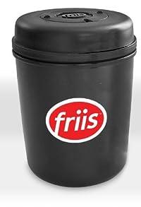 Friis 16-Ounce Coffee Vault, Black Polymer