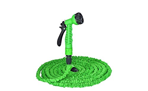 [AZSHARAA Expandable and Flexible Garden Hose. 25, 50 and 75 Foot Expanding or Collapsible Hose for Strongest Magic Garden Hose and 7-pattern Spray Nozzle Expands and Contracts (150FT,] (Swimming Costume For Womens Online)