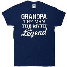 Grandpa The Man Myth Legend T-Shirt