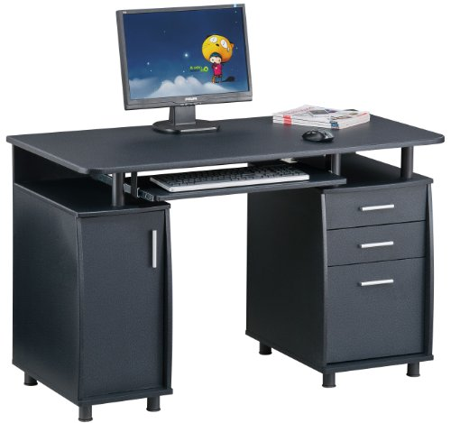 Piranha PC2g Large Computer Desk with 3 Drawers and a Cabinet
