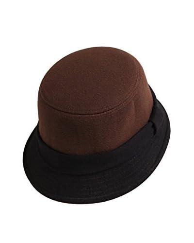 Lancaster Cappello Cloche [Marrone]