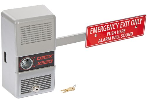 Detex Alarm Panic Exit Control Lock, Short Bar front-133710