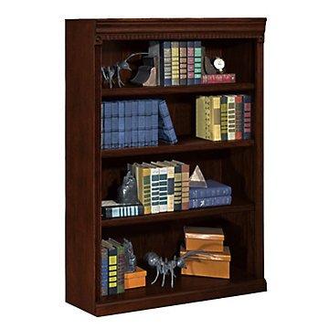 "Huntington Club Four Shelf Bookcase - 48""H"