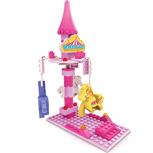 ZTrend Wonderland Mini Merry-Go-Round Building and Stacking Toy