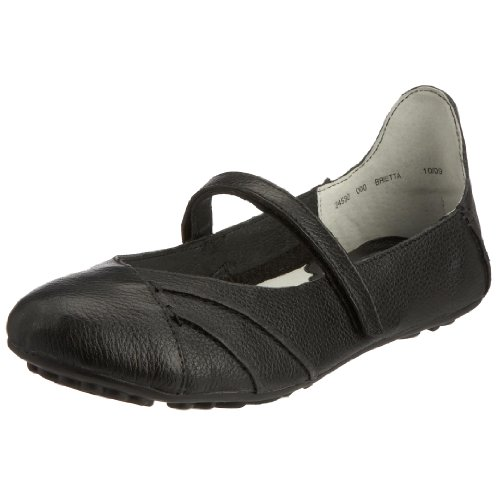 Hush Puppies Women's Brietta Black Leather Mary Jane H24530000 8 UK, 42 EU