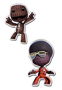 Buy Amazon.com: Little Big Planet: Sack Boy (Set of 2) Pins: Toys & Games