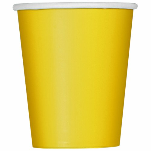9oz-yellow-paper-cups-pack-of-14
