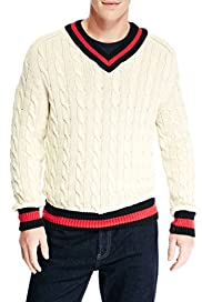 Blue Harbour Cable Knit Cricket Jumper [T30-2802B-S]