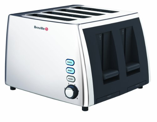 Breville VTT273 Polished Stainless Steel 4 Slice Toaster by Breville