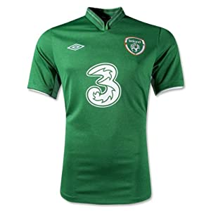 Umbro Ireland Home Jersey 12/13