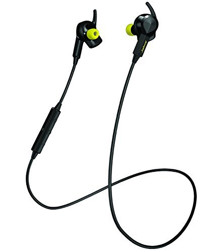 Jabra SPORT PULSE Wireless Bluetooth Stereo Earbuds with Built-In Heart Rate Monitor (Certified Refurbished)