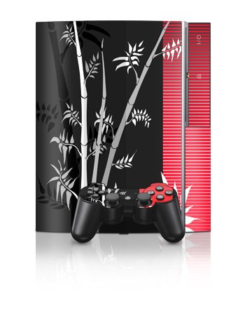 Zen Revisited Design Protector Skin Decal Sticker for PS3 Playstation 3 Body Console