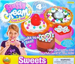 Fluffy Cream Craft & Play Sweets - 1